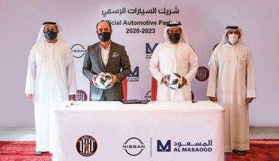 Al Jazira Football Club Strike Three Year Sponsorship with Al Masaood