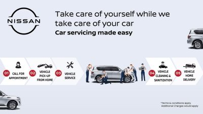 Convenience at Its Best: Al Masaood Automobiles' Home Vehicle Pick and Drop Off Service