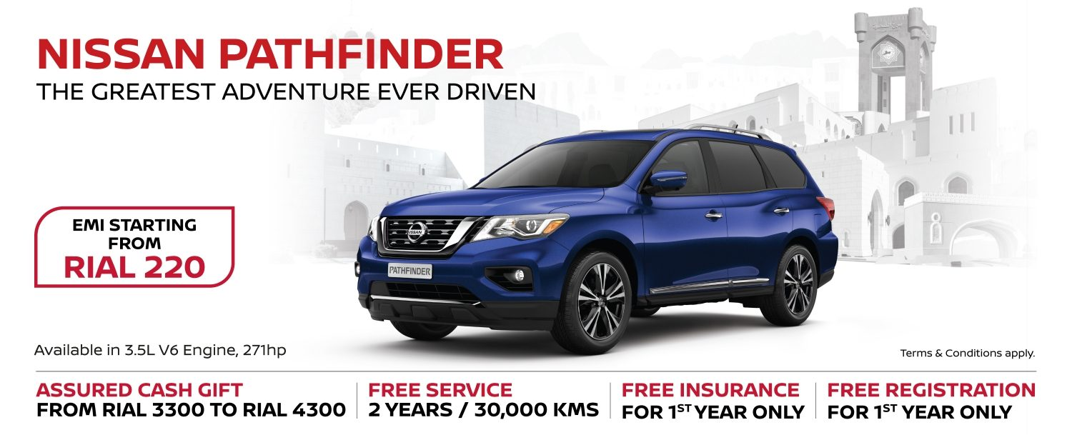 Nissan Pathfinder October Offer 2018