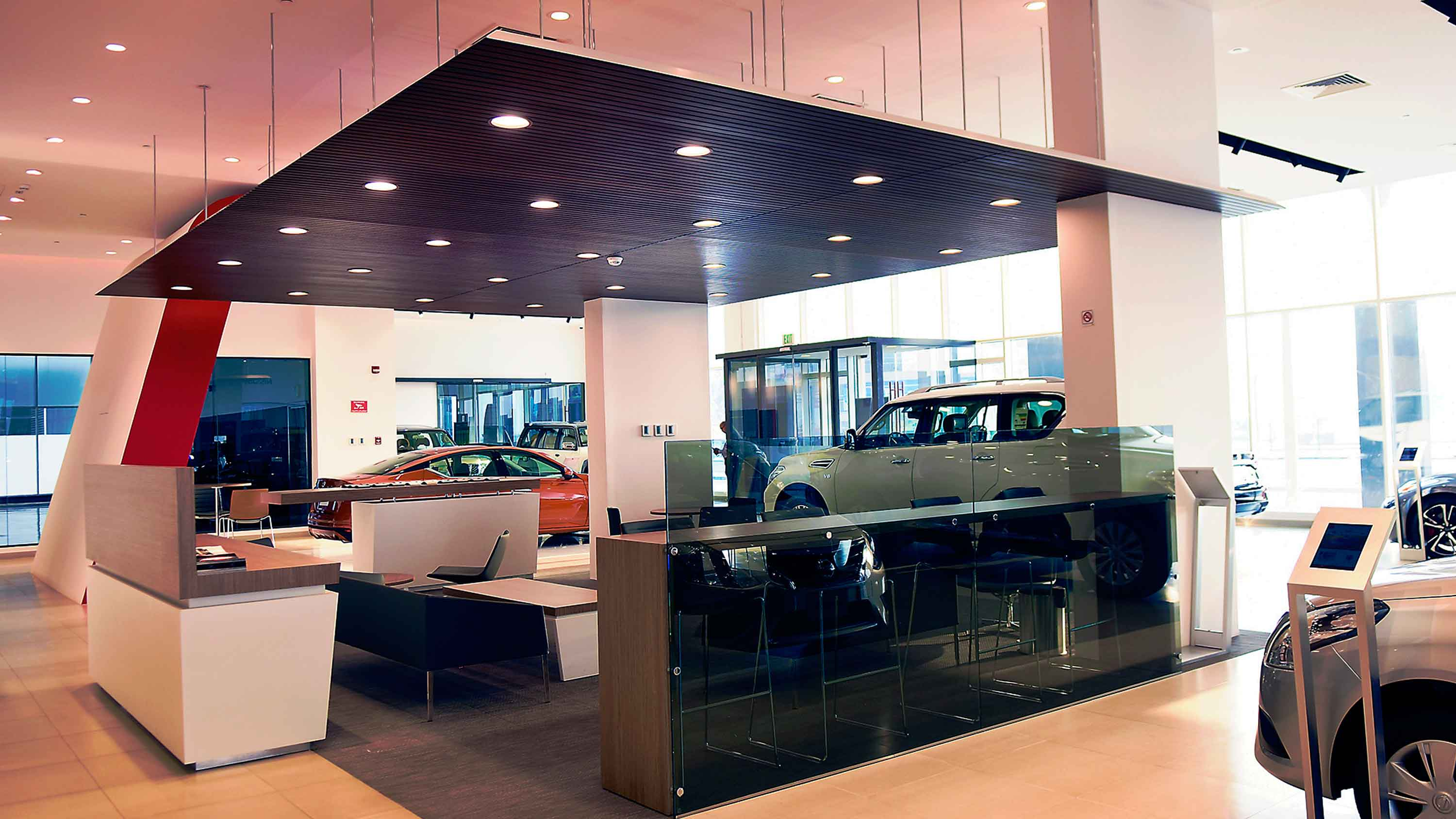 Nissan Qatar Showroom