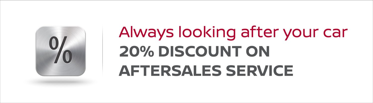 20% Discount on Aftersales Service