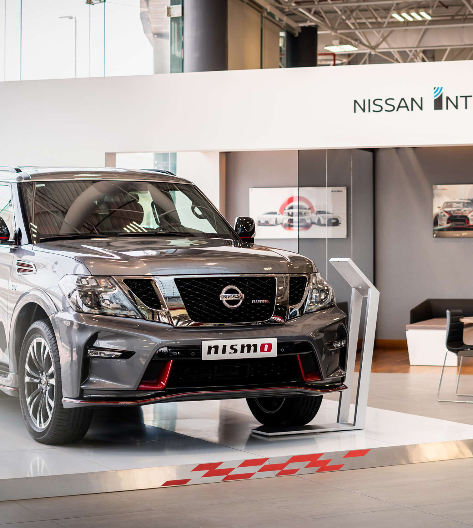 Nissan Patrol in Showroom