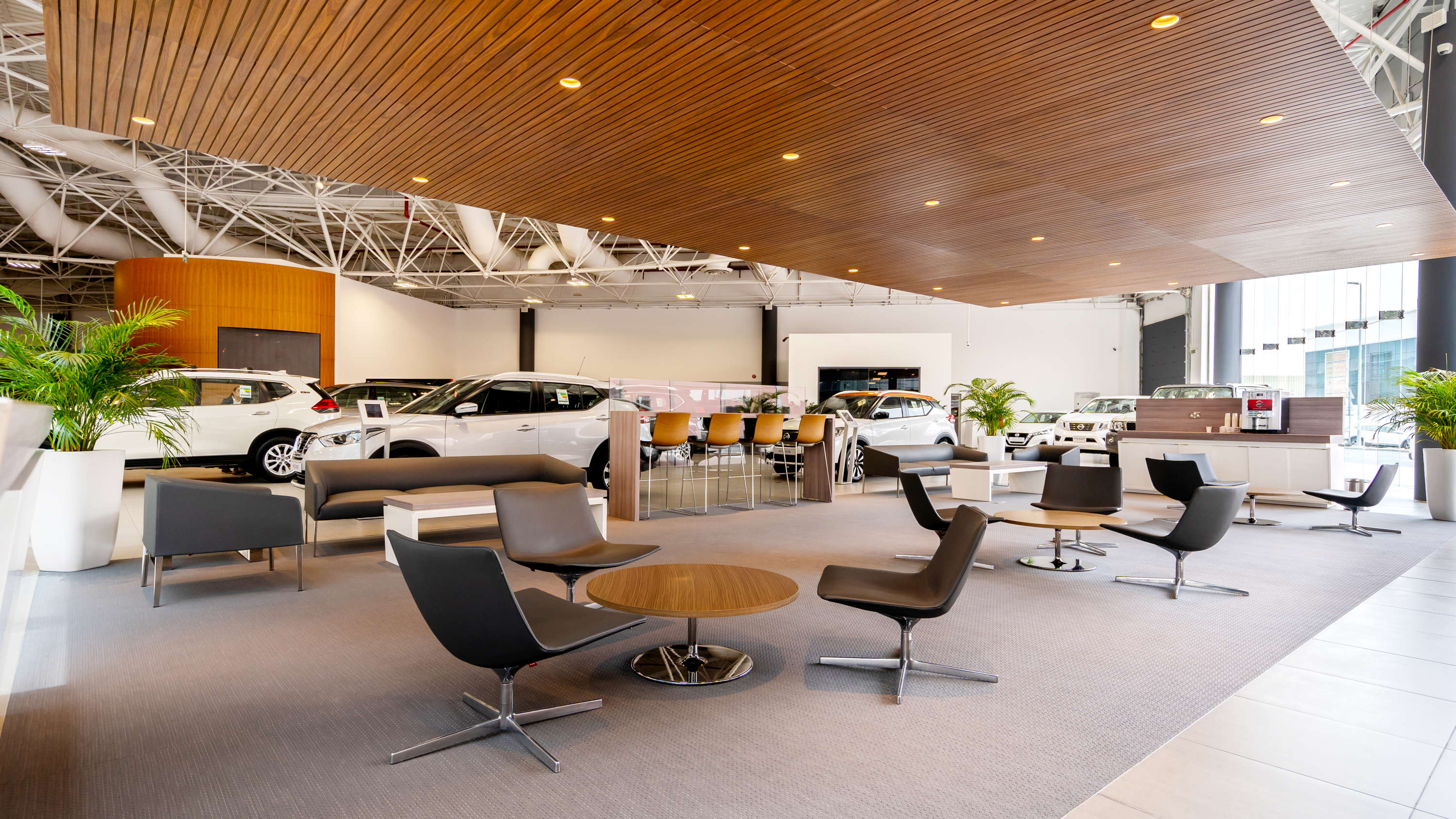 Nissan Showroom Interior
