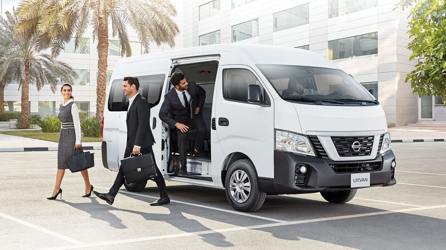 The new Nissan Urvan 2018
