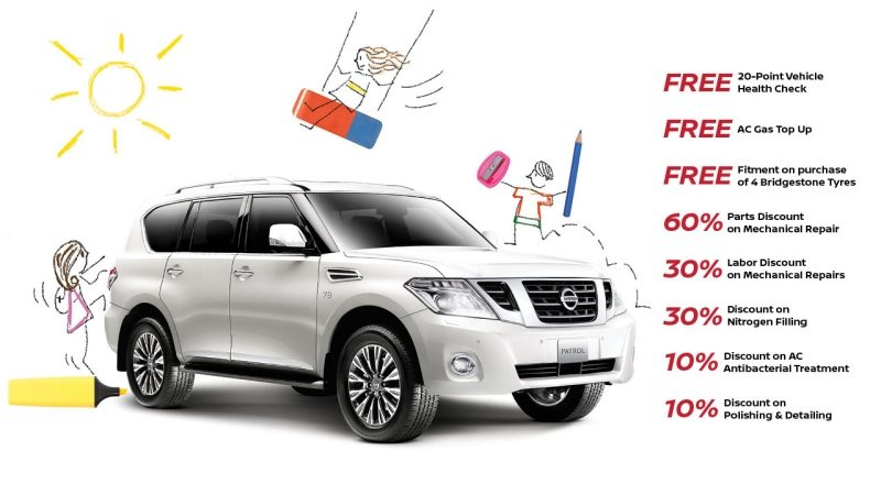 Nissan Back to School Offer