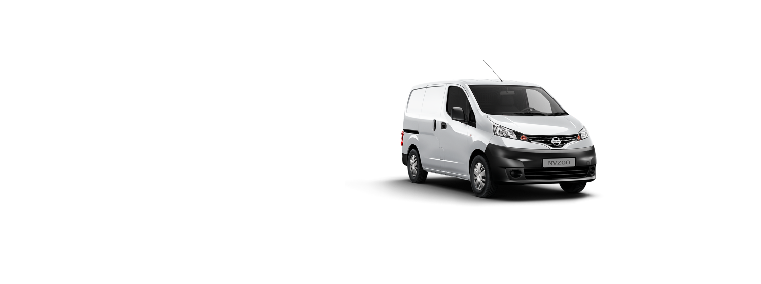 Nissan NV200 - Pearl White
