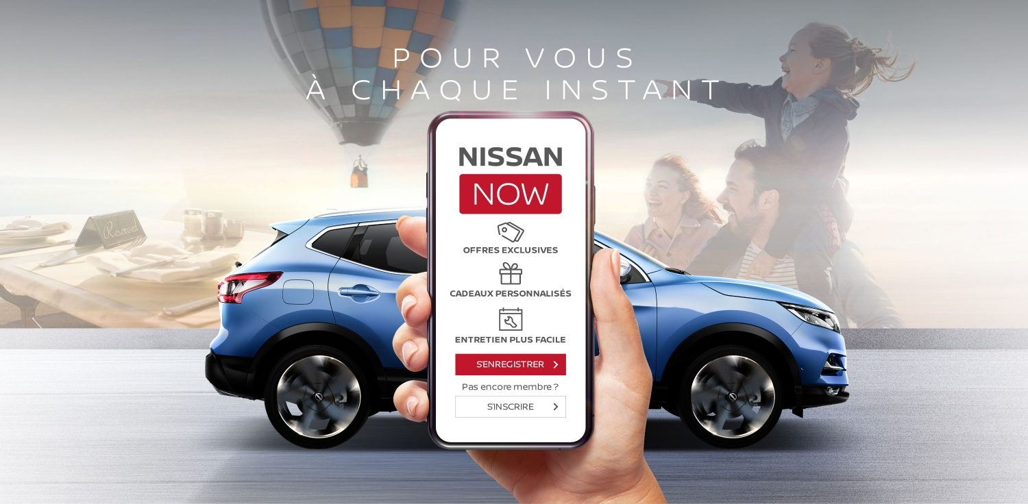 Application smartphone Nissan Now