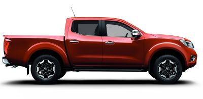 Nissan NP300 Navara - Side view