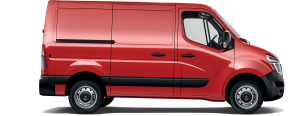 Nissan NV400 Van - Side view