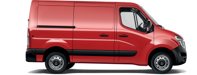 Nissan NV400 - side view