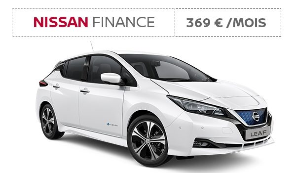 Nissan Finance - Nouvelle Nissan LEAF