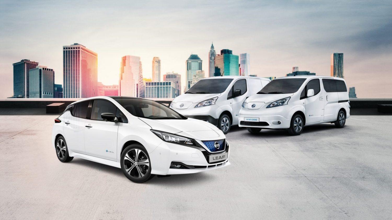 Nissan Leaf Ev Elektrische Auto Nissan