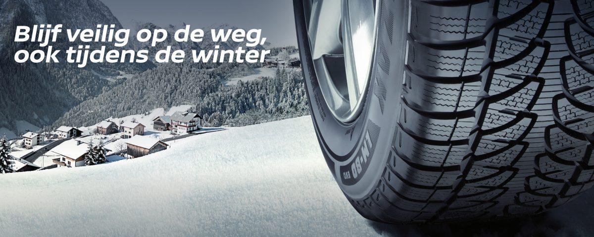 Nissan Winterbandenactie Belgie