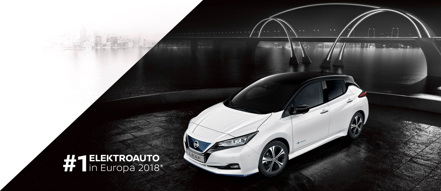 Der NISSAN LEAF 3.ZERO e+ Limited Edition