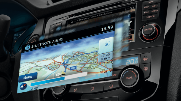 NISSANCONNECT WITH NAVIGATION AND APPS