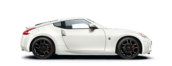 Nissan 370z Coupé - Side view