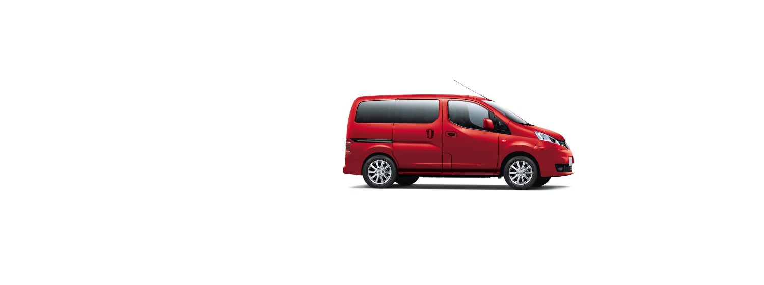 Nissan NV200 Evalia - Solid Red