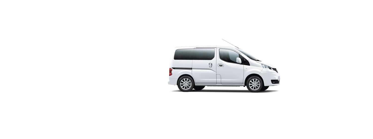 Nissan NV200 Evalia - Pure White