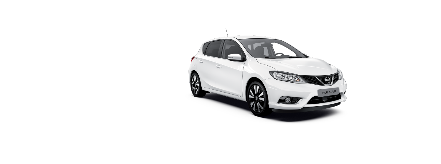 Nissan Pulsar - Pure White
