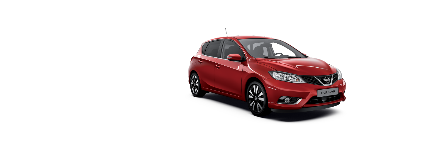 Nissan Pulsar - Solid Red