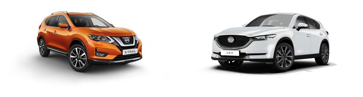 NISSAN X-Trail vs Mazda cx 5