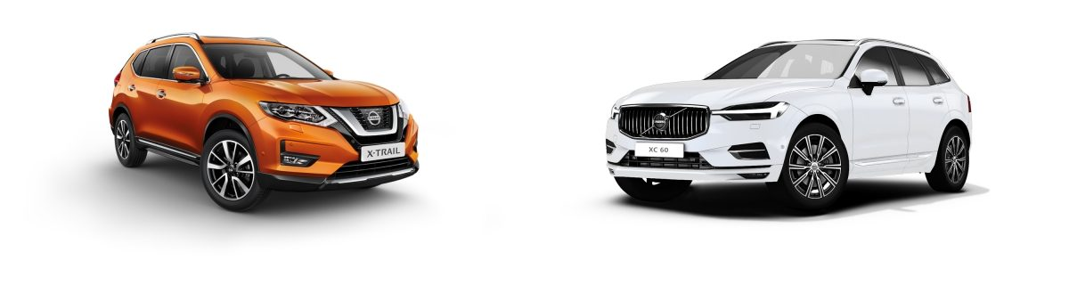 NISSAN X-Trail vs Volvo xc60
