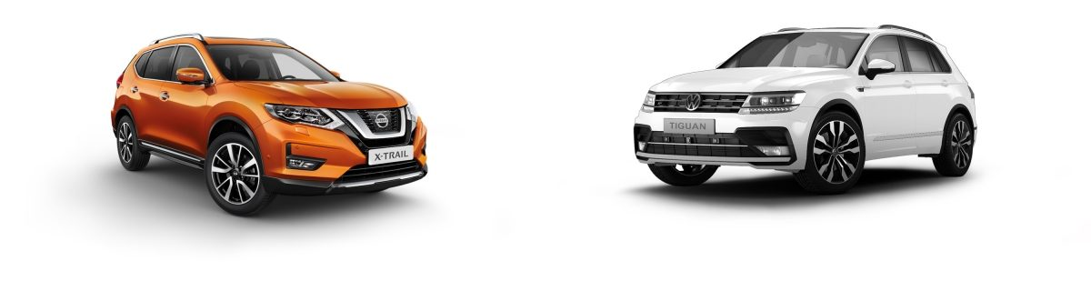 NISSAN X-Trail vs. Tiguan