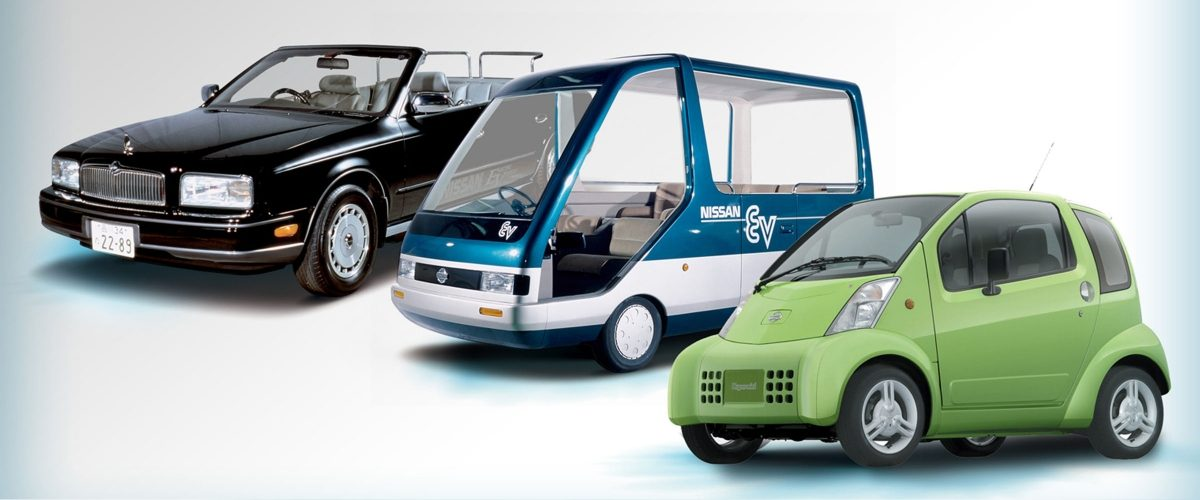 Nissan Electrify the world - Historia vehículos eléctricos