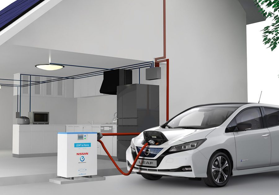Nissan - Ecosistema eléctrico - Vehicle to home