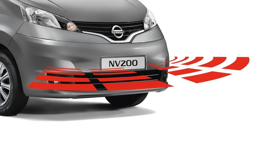 Nissan NV200 - Safety - Front parking system