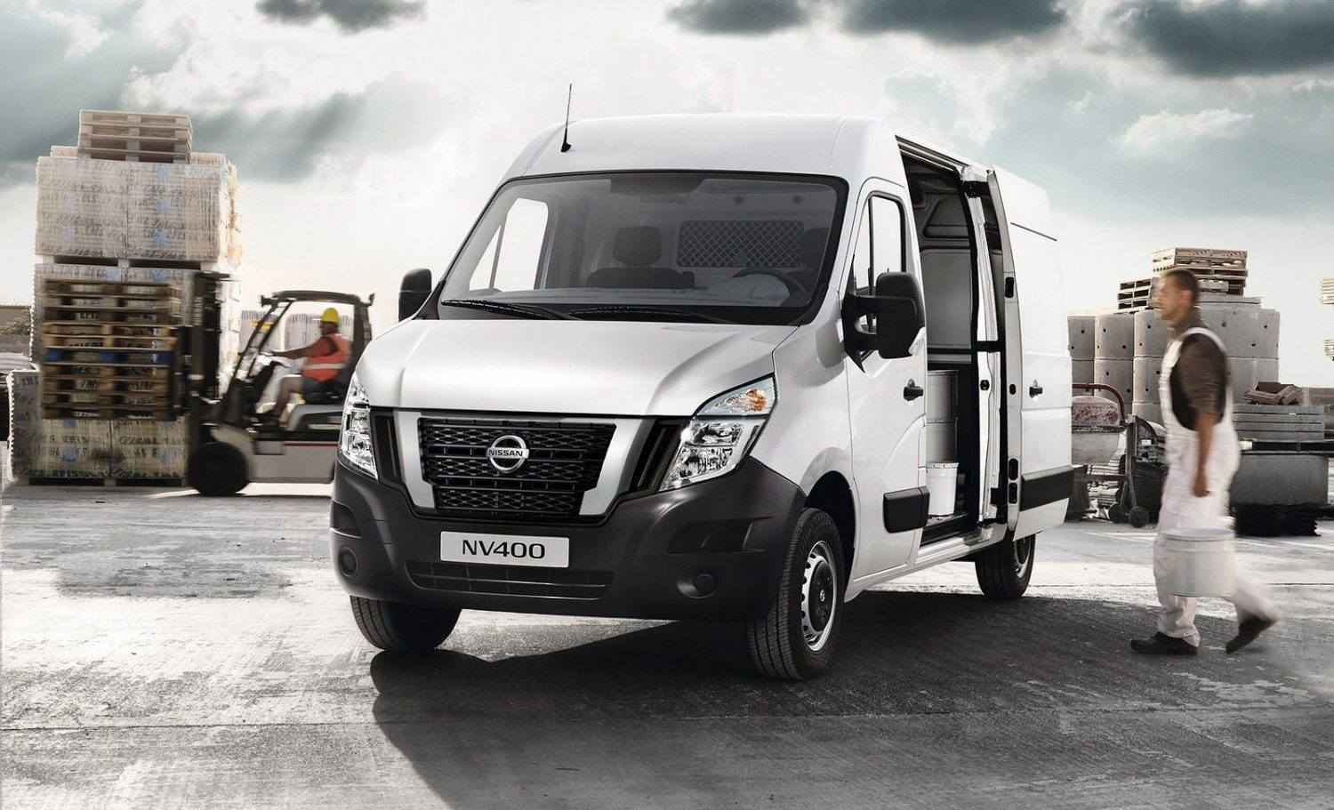 Nissan NV400 diseño exterior lateral