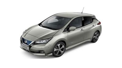 New Nissan LEAF Tekna front view