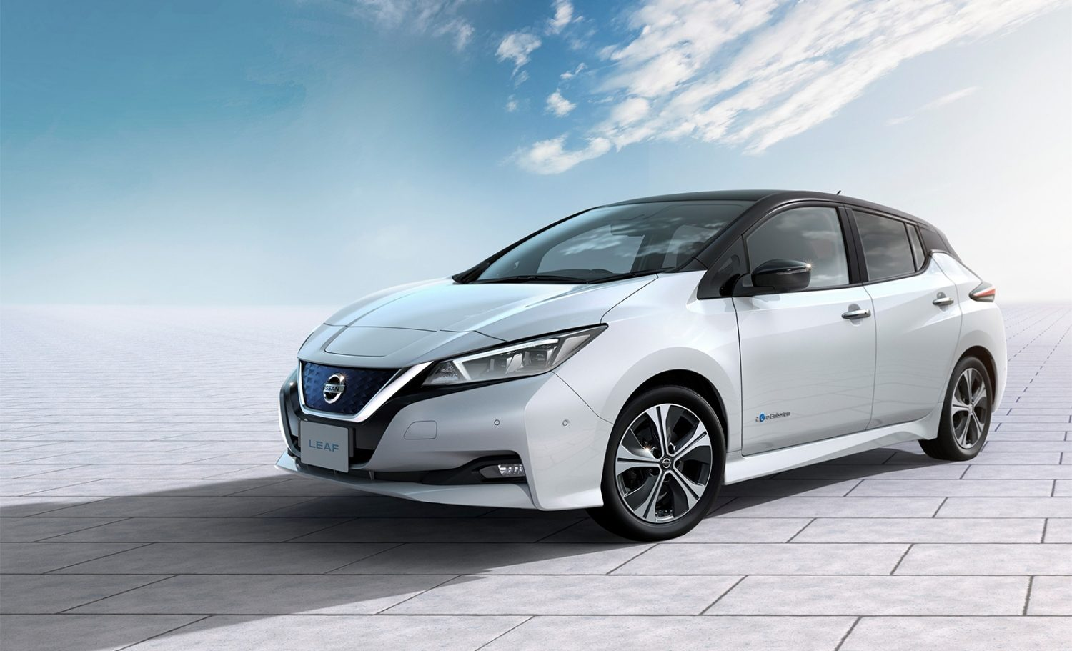 Nissan Leaf design exterior lateral