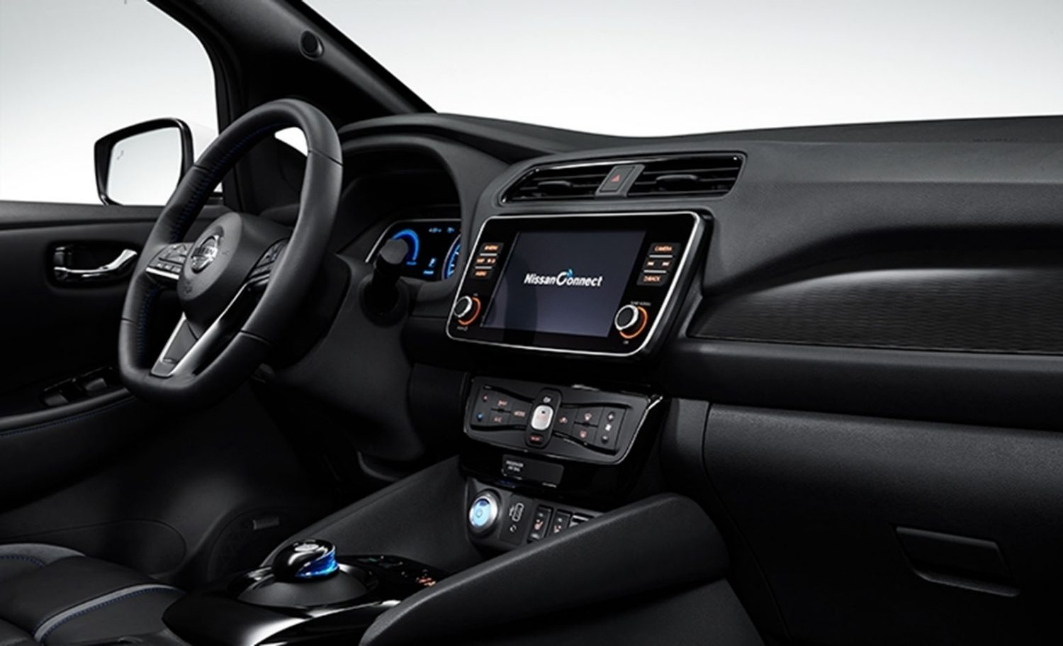 Nissan Leaf design interior