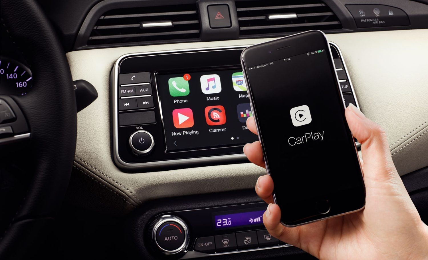 Nissan Micra CarPlay