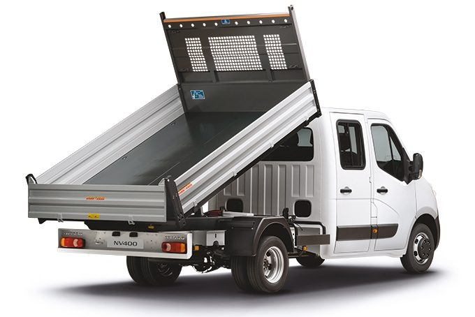 Nissan NV400 – Tipper