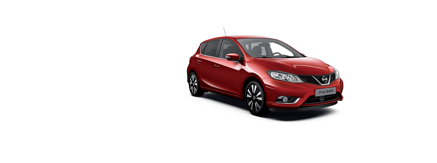 Nissan Pulsar - Force red