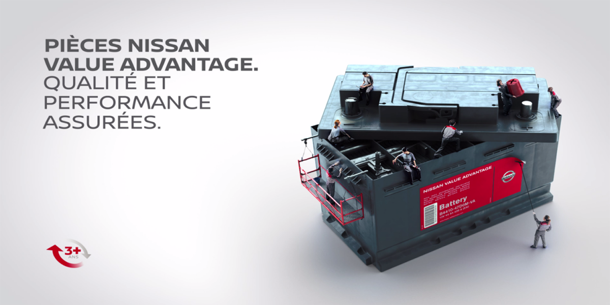 PIÈCES NISSAN VALUE ADVANTAGE