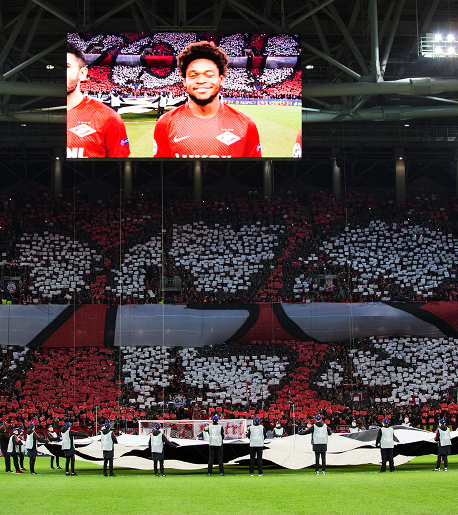 Le Drapeau Des Champions Uefa Champions League Nissan