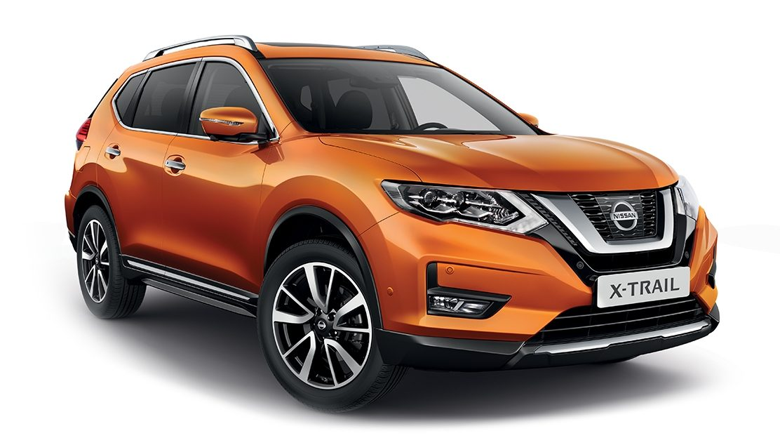 nissan x trail suv 7 places nissan. Black Bedroom Furniture Sets. Home Design Ideas