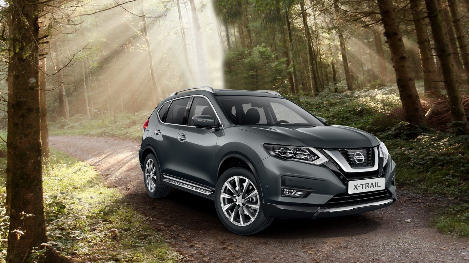 s rie sp ciale nissan x trail 4x4 crossover voiture. Black Bedroom Furniture Sets. Home Design Ideas