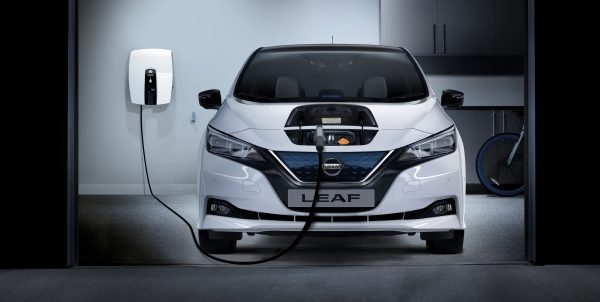Nissan electric vehicles charge at home