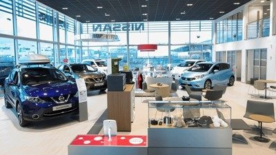 Search vacancies with Nissan Dealership