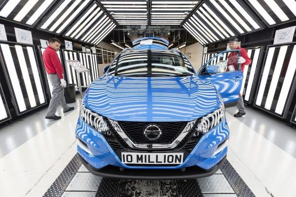 10 millionth car at Nissan Sunderland Plant being produced