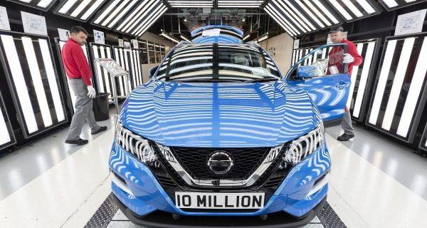 10 Millionth Vehicle at Nissan Sunderland Plant