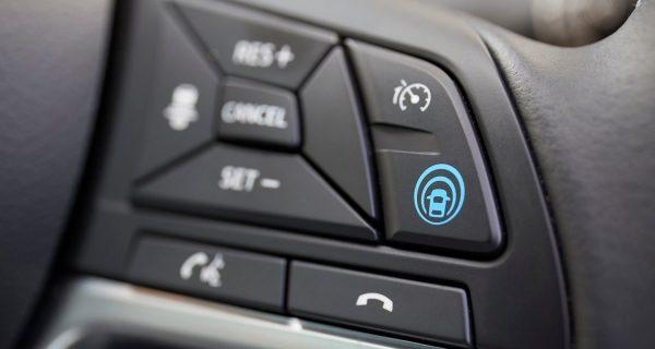 ProPILOT controls of a Nissan Qashqai