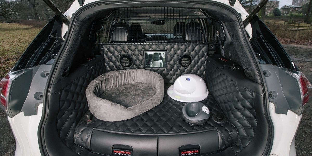 X-Trail boot with doggy interior
