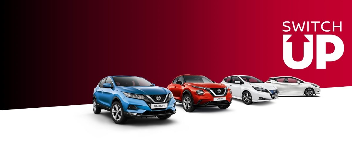 Save up to £6,000 when you switch up to a New Nissan