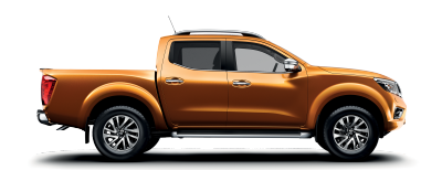 Savannah Yellow Nissan Navara packshot