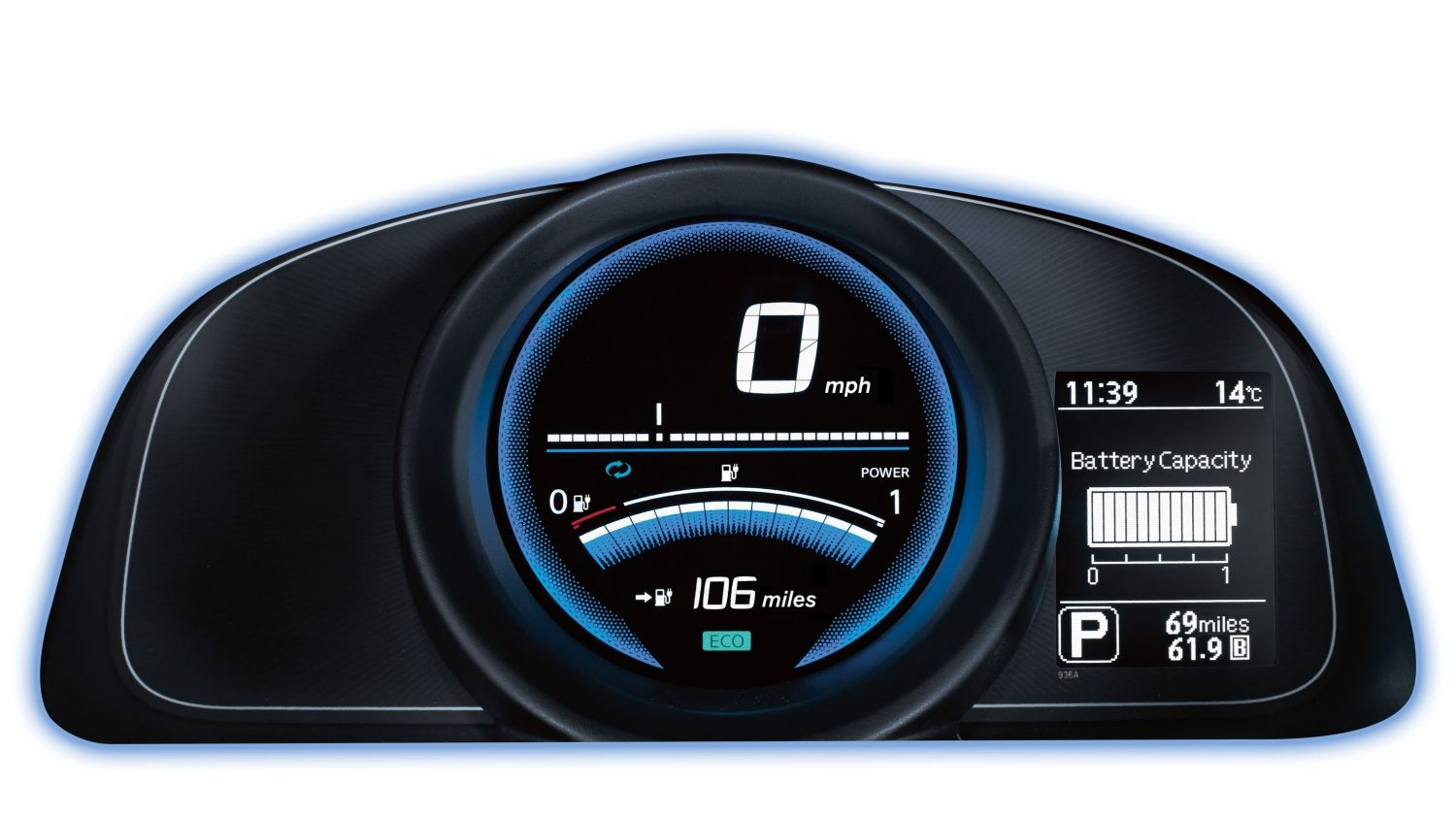 Van | Nissan e-NV200 | Instrument panel